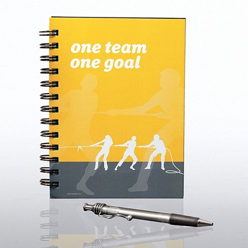 One Team, One Goal Journal & Pen Gift Set