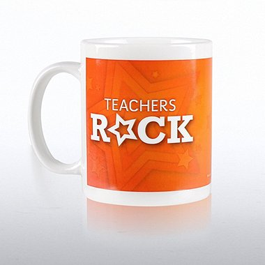 Ceramic Coffee Mug - Teachers Rock