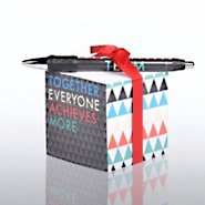Note Cube & Pen Gift Set - T.E.A.M