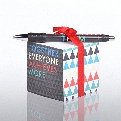 T.E.A.M Note Cube & Pen Gift Set Note Cube & Pen Gift Set