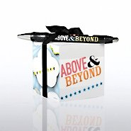 Note Cube & Pen Gift Set - Above & Beyond Theme