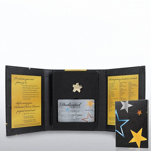 Award Card Dedicated Service Gift Pack