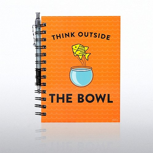 FISH - Think Outside the Bowl Journal & Pen Gift Set
