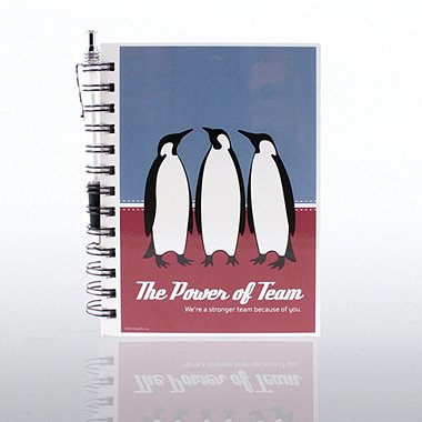 Journal & Pen Gift Set - Penguins: Power of Team