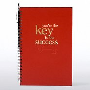 Foil-Stamped Journal & Pen Gift Set - Key to Success
