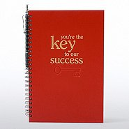 Foil-Stamped Journal & Pen Gift Set - Key to Success