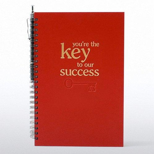 Key to Success Foil-Stamped Journal & Pen Gift Set