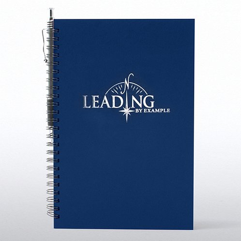 Leading by Example Foil-Stamped Journal & Pen Gift Set