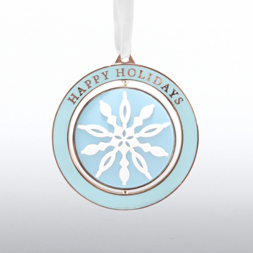 Holiday Spinner Ornament