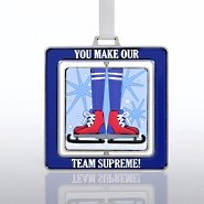 Spinner Ornament - Skates: You Make our Team Supreme