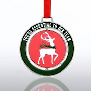 Spinner Ornament - Reindeer: Essential Team