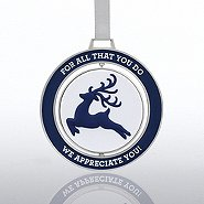 Spinner Ornament - Reindeer