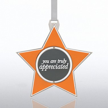 Shaped Spinner Ornament - You Are Truly Appreciated - Star