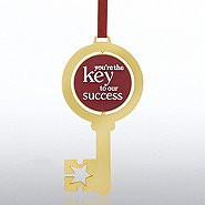 Shaped Spinner Ornament - Key