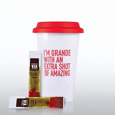 Coffee Lovers Gift Set - Exclamations - I'm Grande
