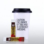 Coffee Lovers Gift Set - Exclamations - Caution