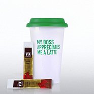 Coffee Lovers Gift Set - Exclamations - My Boss Appreciates