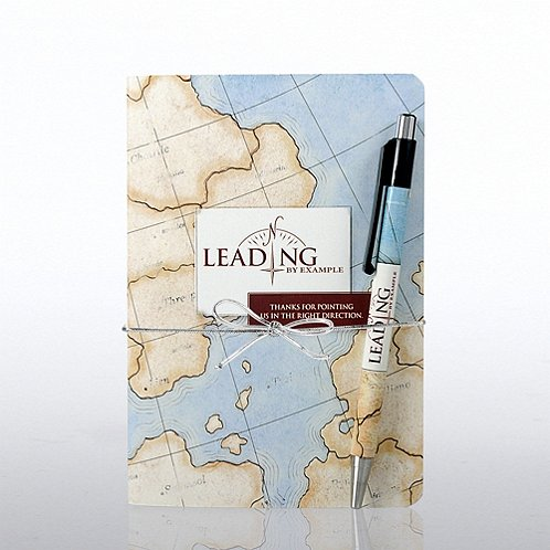 Leading by Example Value Journal & Pen Gift Set