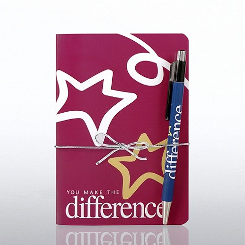 Perfect Bound Journal & Pen Gift Set: You Make a Difference
