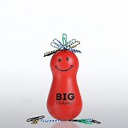 Paper Clip Bobble Head - Positively Awesome - Big Thanks