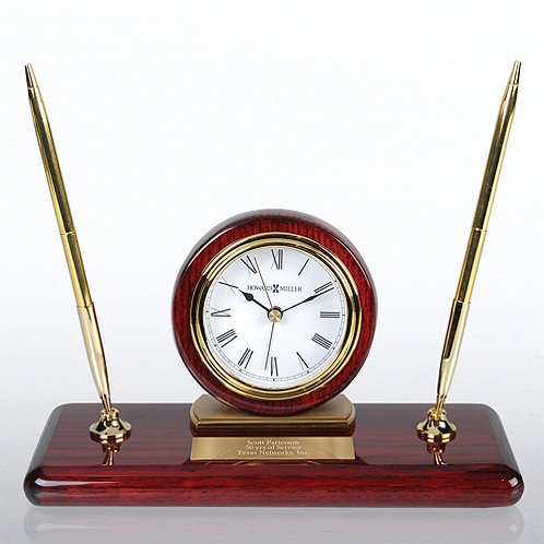 Howard Miller Desk Set Clock