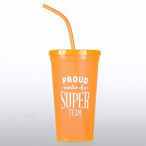 Proud Member of a Super Team Value Tumbler