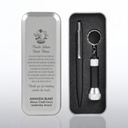 Flashlight & Pen Gift Set