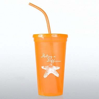 Value Tumbler - Starfish - Making a Difference