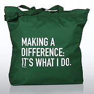 Zipper Tote Bag - MAD - IT'S WHAT I DO