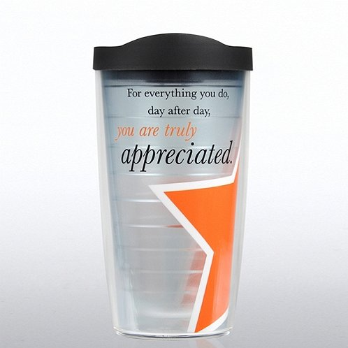 You are Truly Appreciated Tervis Tumbler