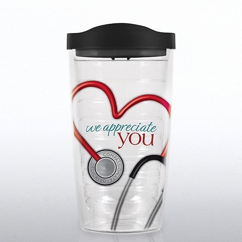 Stethoscope: We Appreciate You Tervis Tumbler