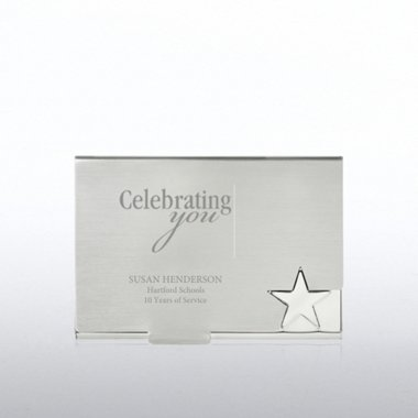 Business Card Holder - Star