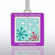 Spinner Ornament - Snowflakes: You Make the Difference
