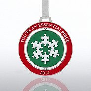 Spinner Ornament - Essential Piece Snowflake