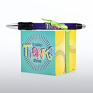 Note Cube & Pen Gift Set - Making a Difference - Thanks