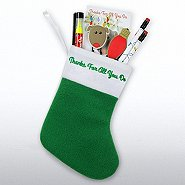 Holiday Stocking Gift Set - Thanks for all You Do - Reindeer