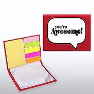 Quote Bubble Sticky Note Booklet - You're Awesome!
