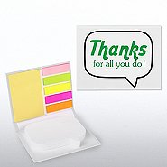 Quote Bubble Sticky Note Booklet - Thanks for All You Do