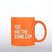 Neon Ceramic Mug - You are the Bomb.com