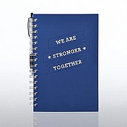 Foil-Stamped Journal & Pen Gift Set - Stronger Together