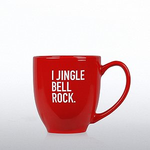 Holiday Bistro Mug - I JINGLE BELL ROCK