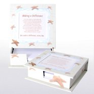 Notepaper Frame - Starfish: Making a Difference