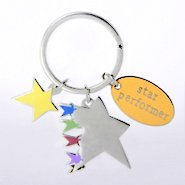 Simply Charming Key Chain - Star Performer