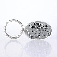 Character Key Chain - It Takes Teamwork