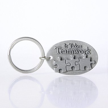 Character Key Chain - It Takes Teamwork