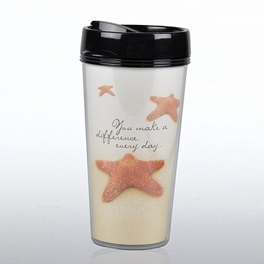 Travel Mug - Starfish: Making a Difference