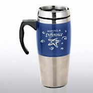 Stainless Steel Travel Mug - Starfish: Making a Difference