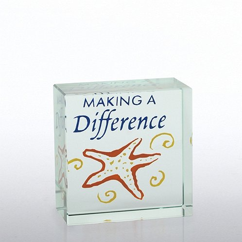 Starfish: Making a Difference Mini Art Cubes