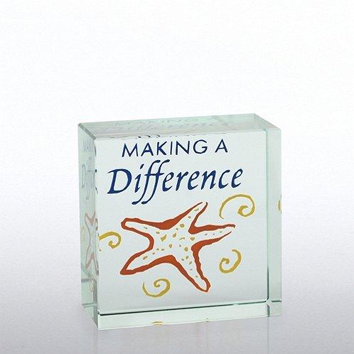 Starfish: Making a Difference Mini Art Cubes