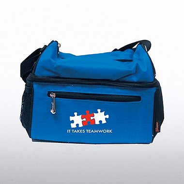 Premium Insulated Cooler Bag - It Takes Teamwork